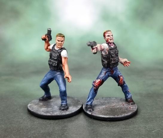 "Zombicide ""Yuri"" (Kiefer Sutherland as Jack Bauer: 24)"