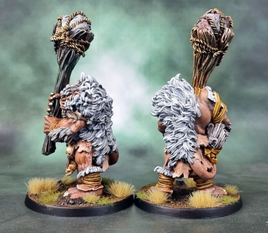 Shieldwolf Miniatures' Krumvaal Lower Yetis