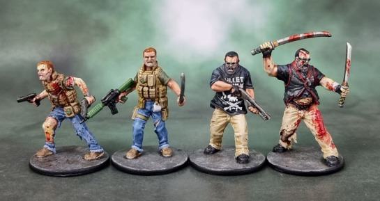 "Zombicide ""Joshua"" and ""Raoul"""