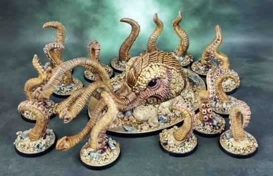 Shadows of Brimstone: Sand Kraken & Tentacles