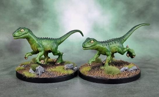 Reaper Bones Black 44081: Raptor Hunting Pack