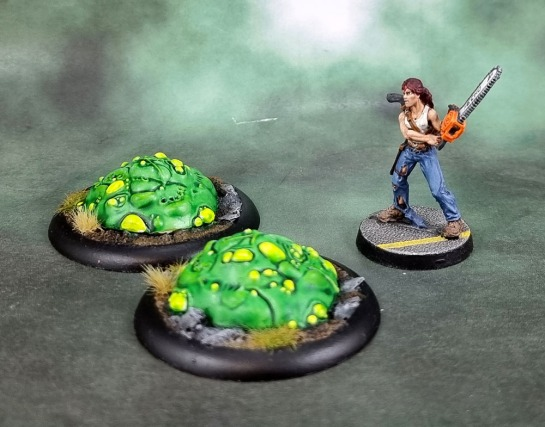 Shadows of Brimstone Forbidden Fortress: Acid Blobs, Reaper Berkeley, Zombie Survivor