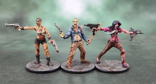 Zombicide Zombivors: Kim, Watts and Shannon