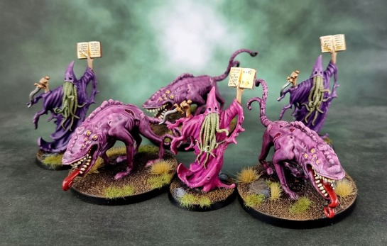 Shadows of Brimstone: Masters of the Void, Void Sorcerers, Void Hounds