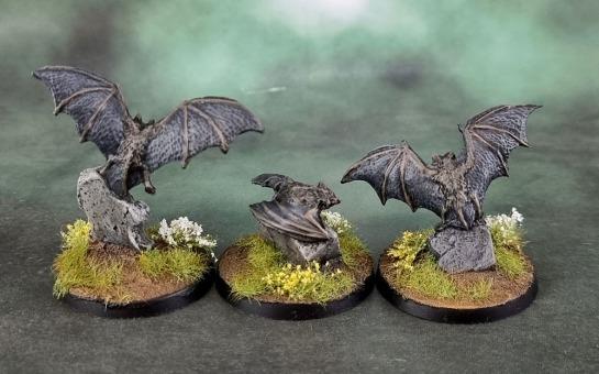 Reaper Bones Black 44040: Giant Bats