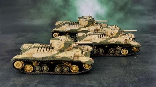 Bolt Action! 28mm British Valentine Tank Platoon