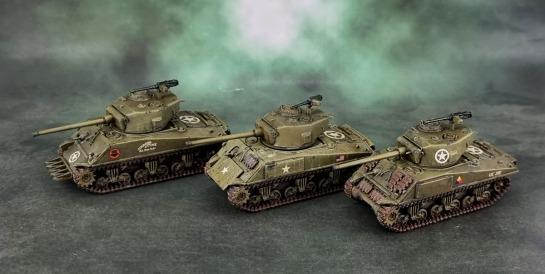 Battlefront U.S. M4A3 (Late) Shermans 76mm Turrets