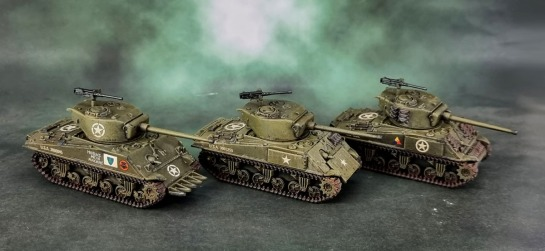Battlefront M4A3 (Late) Shermans 76mm Turrets