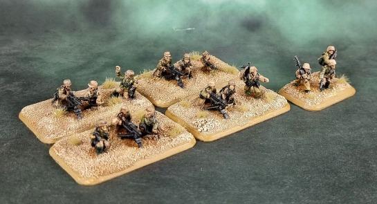 Battlefront Miniatures, Flames of War, DAK, Afrika Korps, Deutsches Afrikakorps, 15mm, 1/100 scale, Grenadier Medium Machinegun Platoon