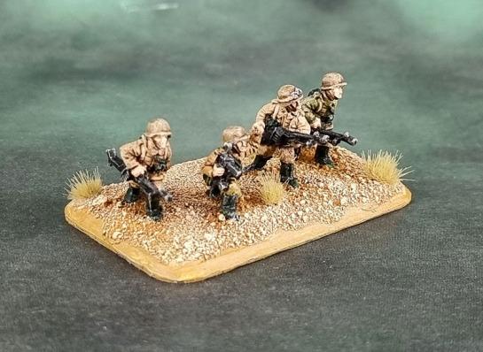 Battlefront Miniatures, Flames of War, DAK, Afrika Korps, Deutsches Afrikakorps, 15mm, 1/100 scale, Grenadier Antitank Rifles