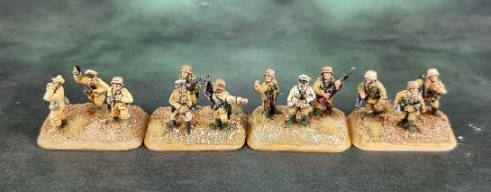 Battlefront Miniatures, Flames of War, DAK, Afrika Korps, Deutsches Afrikakorps, 15mm, 1/100 scale, Grenadier Command, Luftwaffe Command