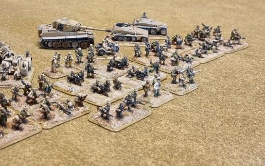 Battlefront Miniatures, Flames of War, DAK, Afrika Korps, Deutsches Afrikakorps Army