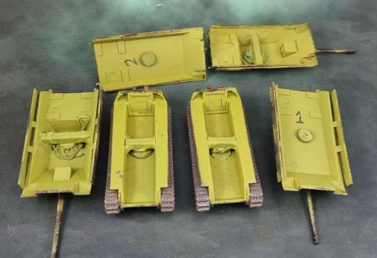 Battlefront Miniatures 15mm Panthers & Jagdpanthers